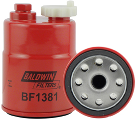BF1381 Fuel/Water Separator Spin-on with Drain and Sensor Port