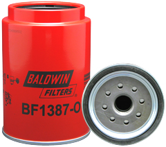 BF1387-O Fuel/Water Separator Spin-on with Open Port for Bowl