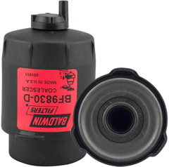 BF9830-D Fuel/Water Coalescer with Drain