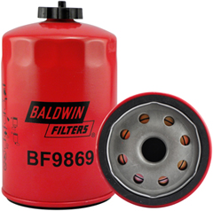 BF9869 Fuel Spin-on Filter with Drain
