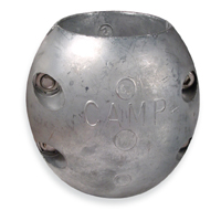 CAMX10 Shaft Zinc Anode 2-1/4 Inch Diameter