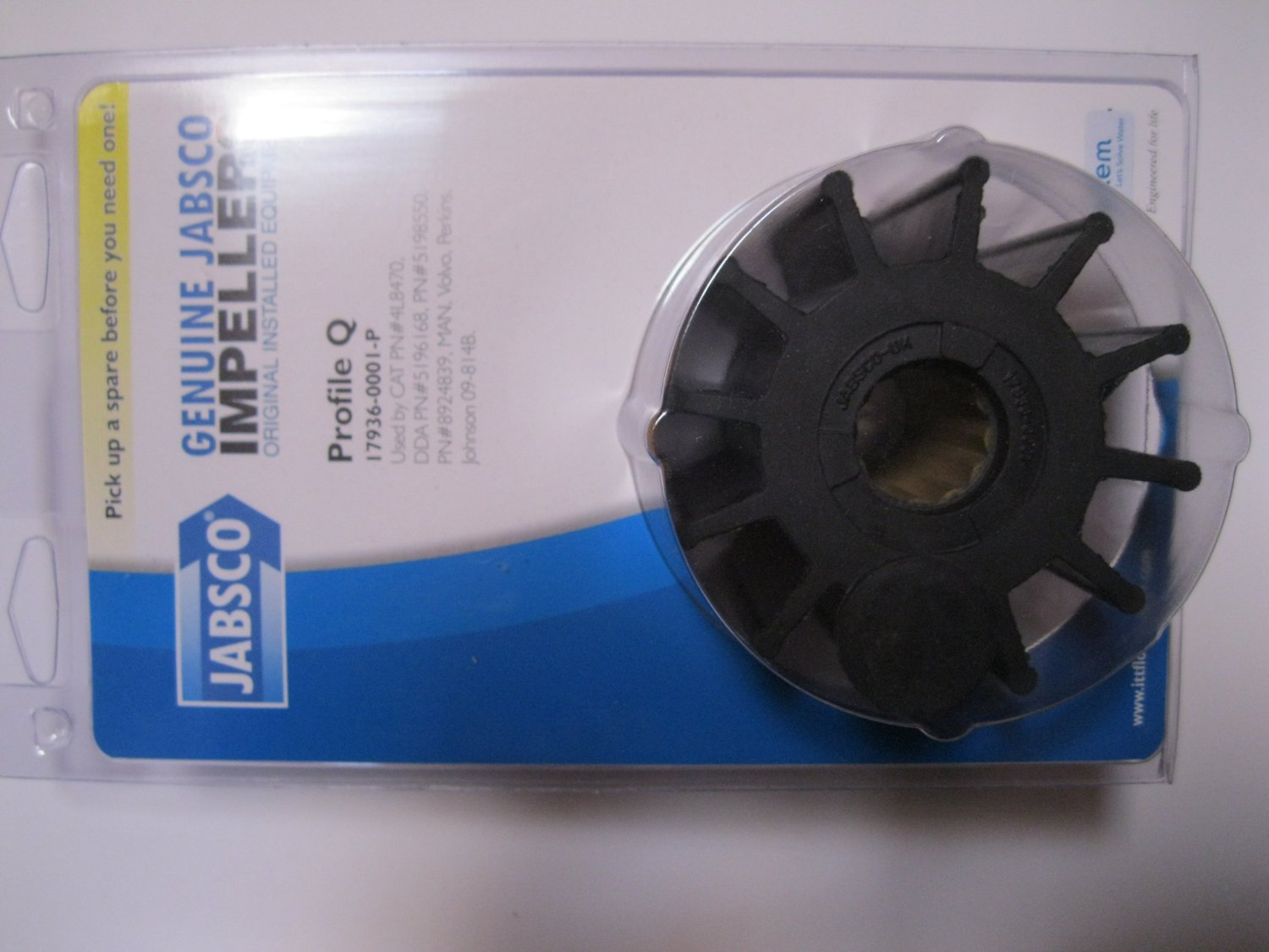 Jabsco 17936-0001P Impeller