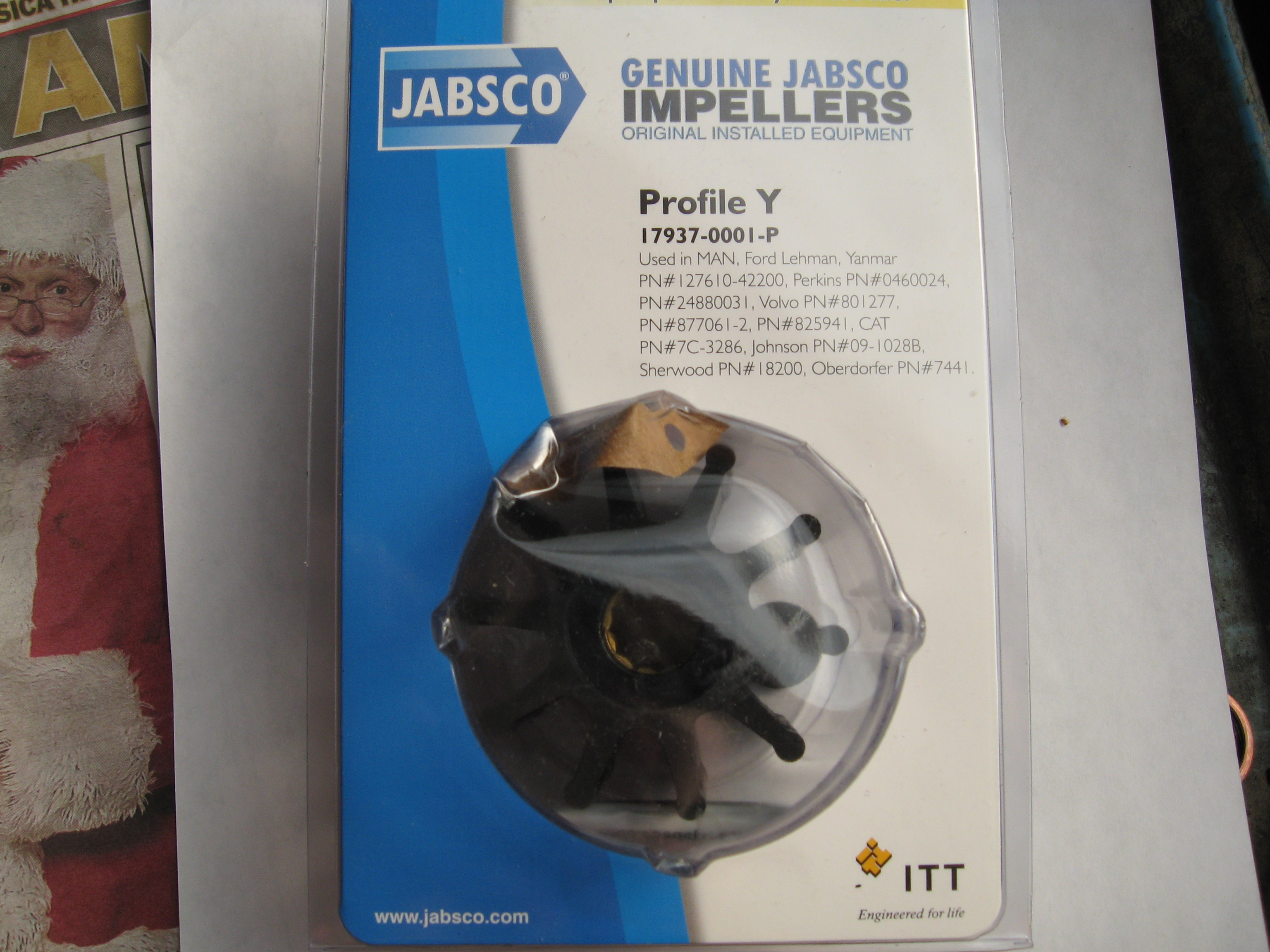 Jabsco 179370001P Impeller Kit