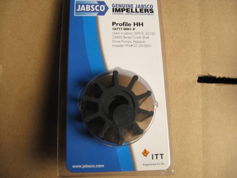 ITT 18777-0001P Impeller