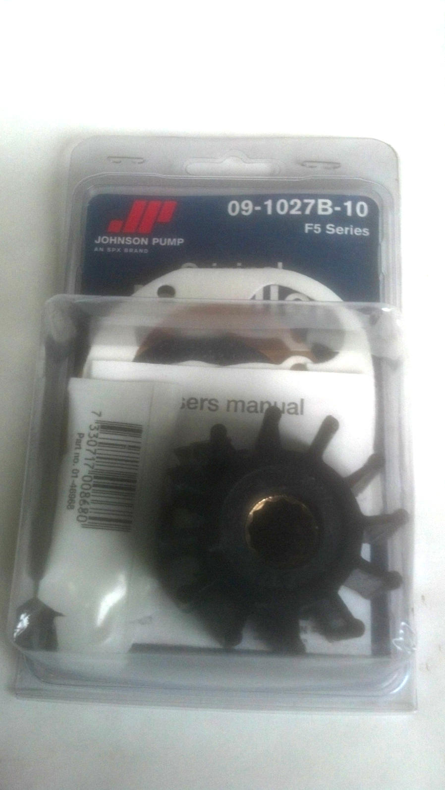 JPI-091027B10  Johnson Pump F5B Impeller Kit for Volvo Penta