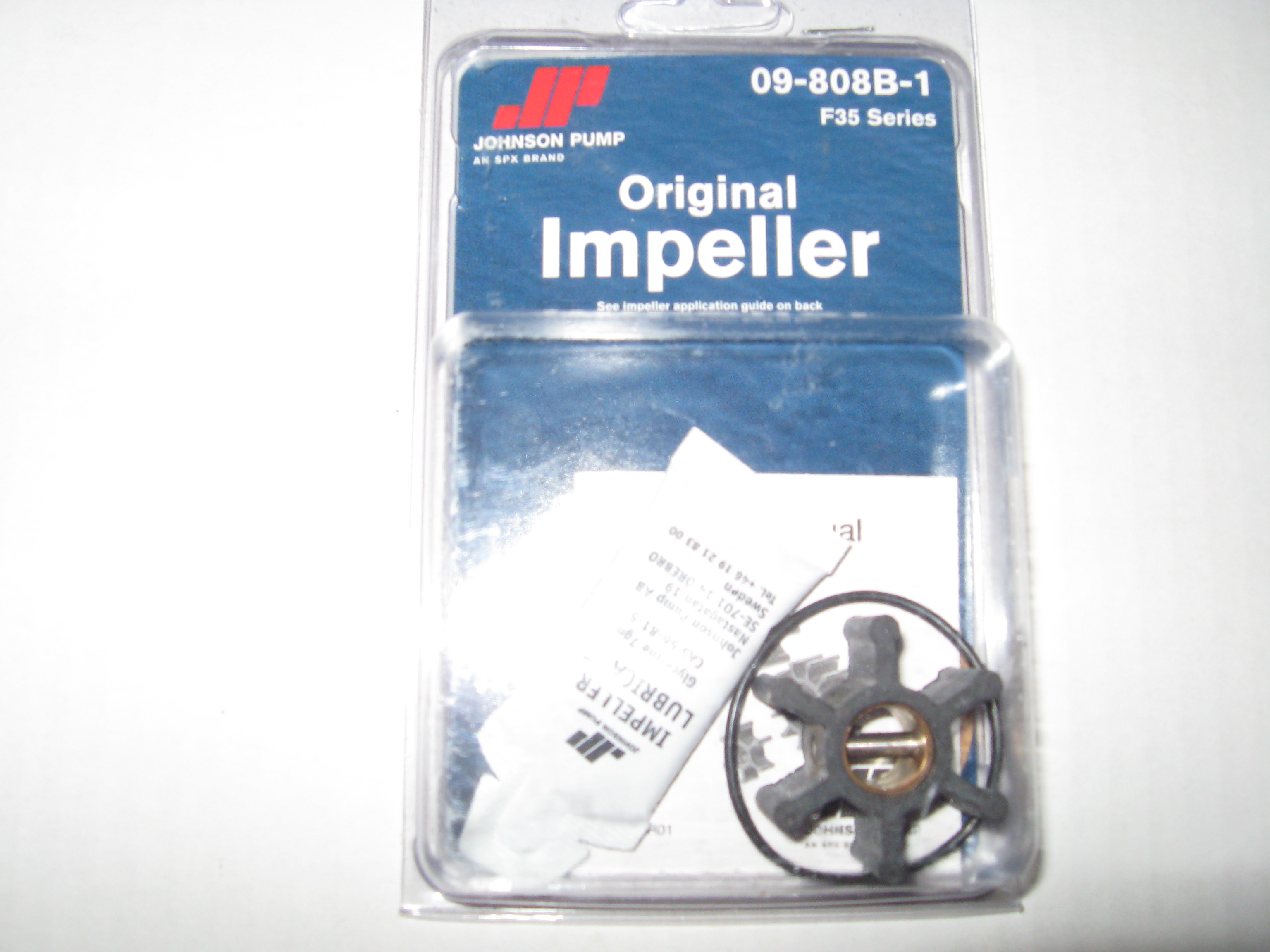 09-808B-1 Johnson Pump F35B Impeller Kit
