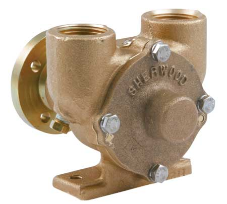 Sherwood Pumps SHE E35 Crusader Pump Bronze